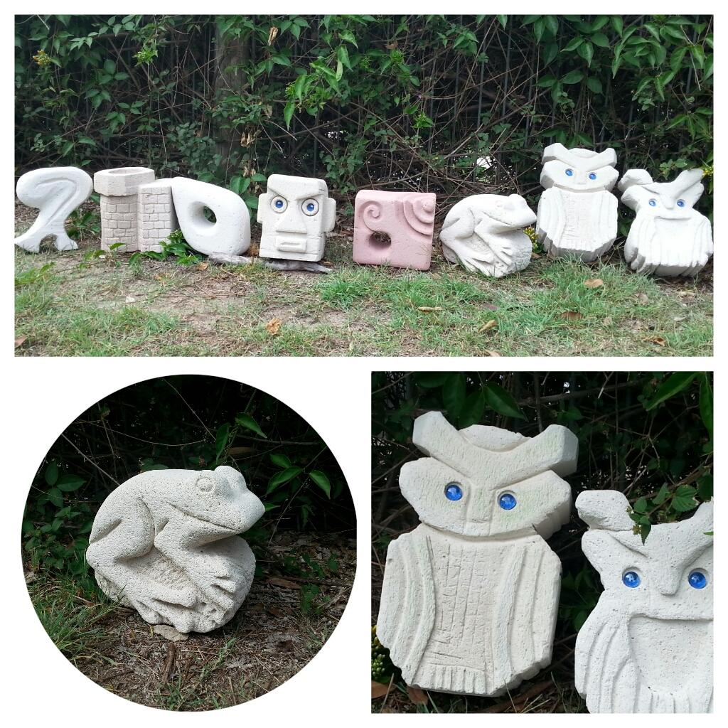 Hebel Sculptures Childrens Group
