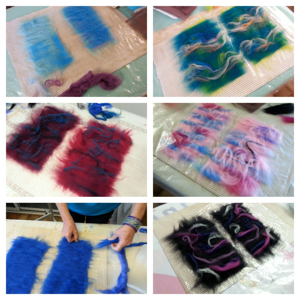 Felting Phone Pouches