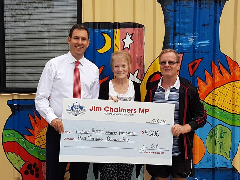 jIM cHALMERS cHQ PRESENTATION