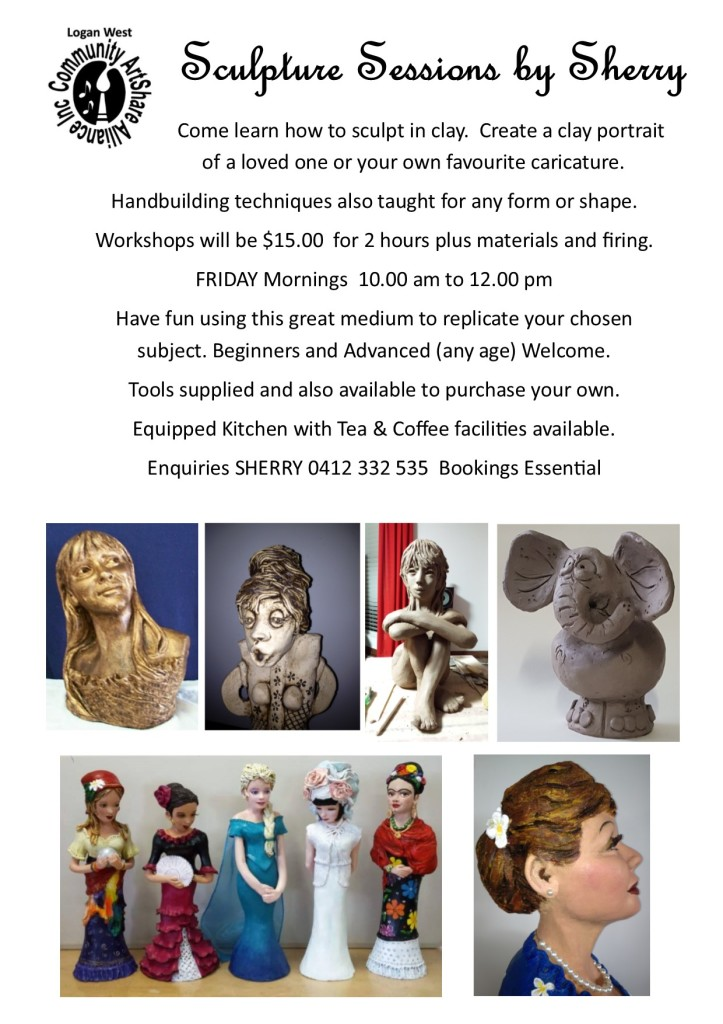 Clay Sculpture Workshops
